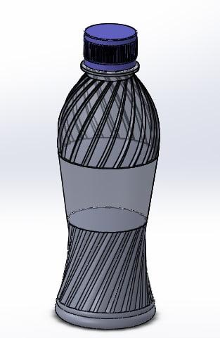 250 ml pet bottle model