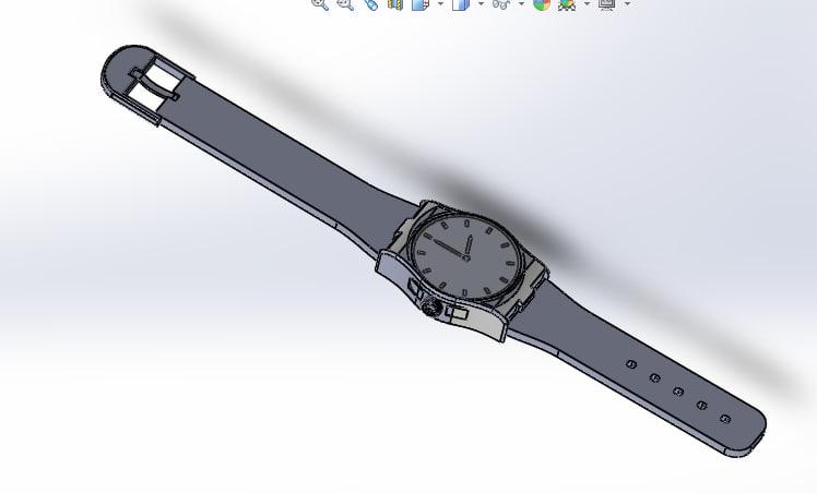 wrist watch 3D