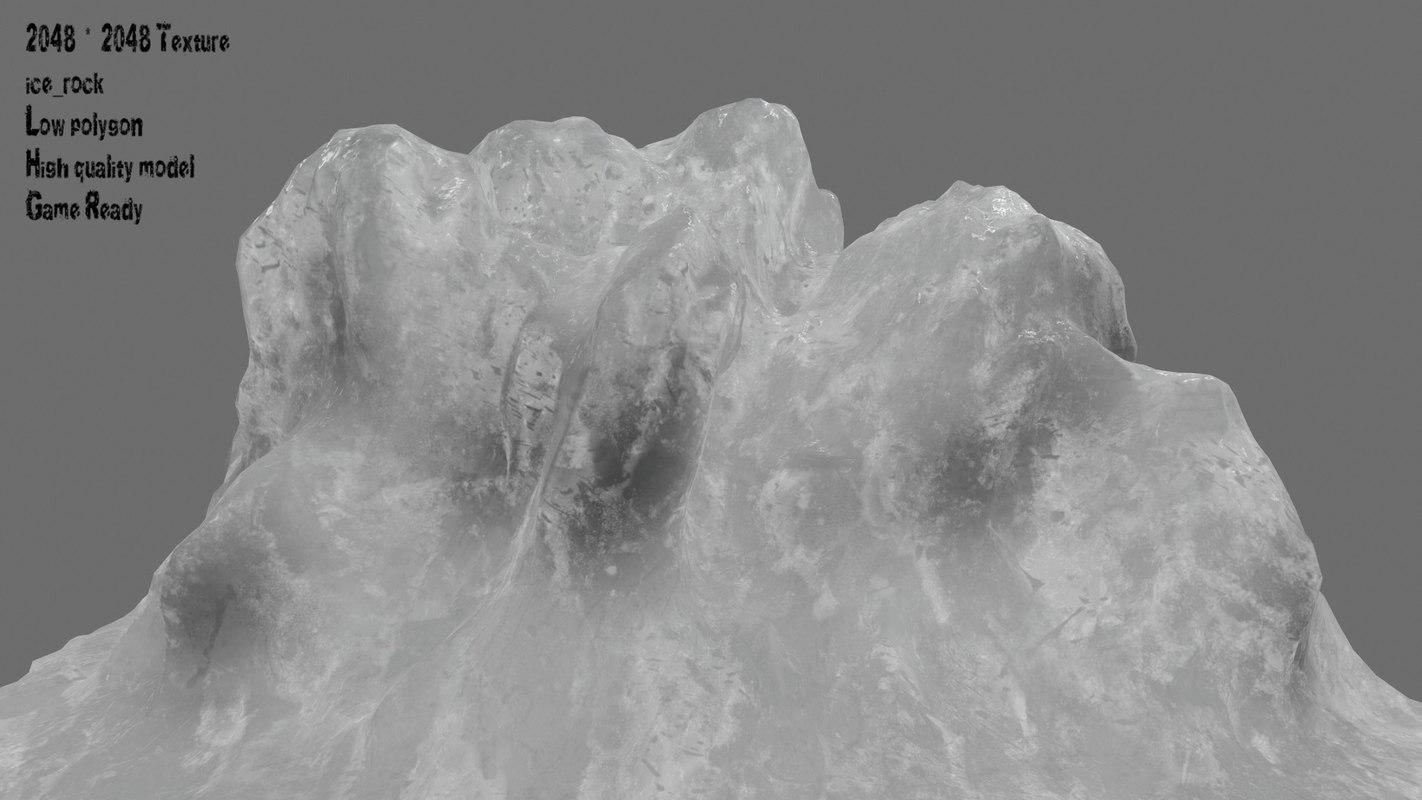 ice snow 3D