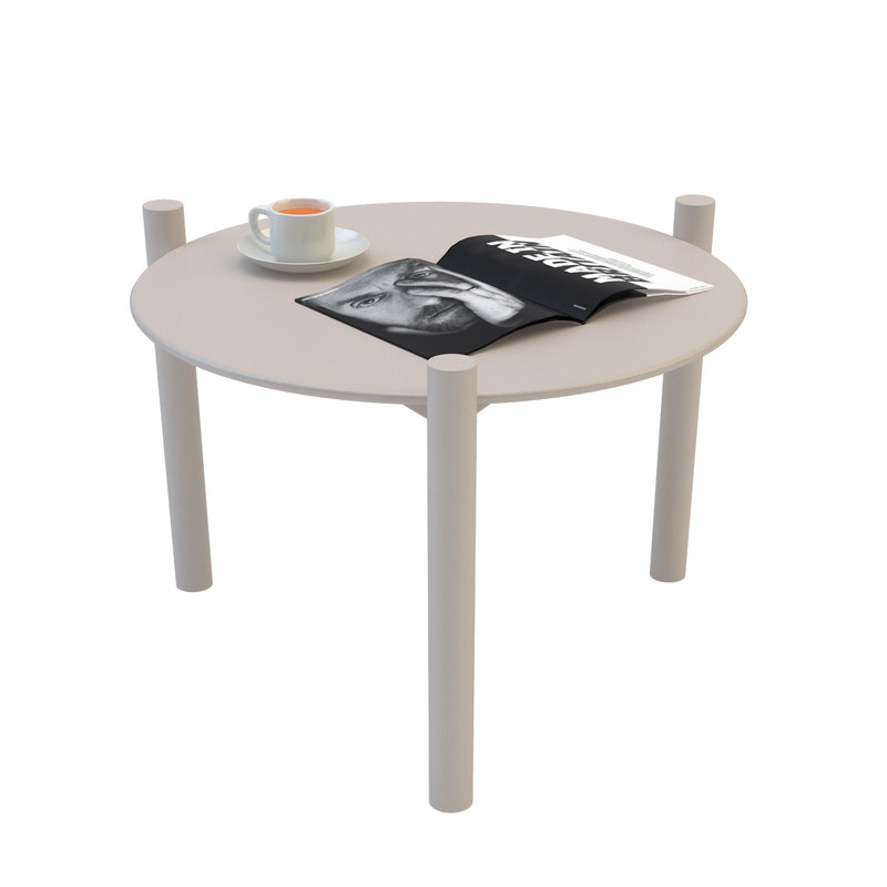 3D model varaschin bahia table