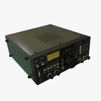 receiver icom r7000 3D model