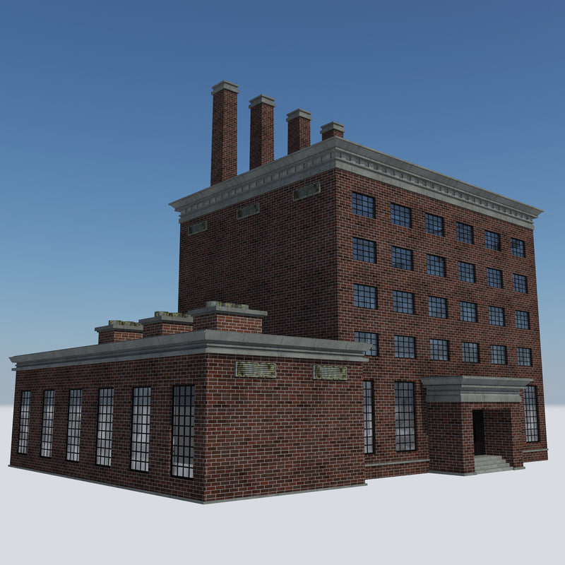 - abandoned steam factory 3D