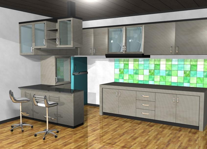 furniture minimalist interior model