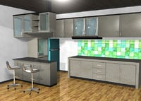 Furniture Kitchen Set