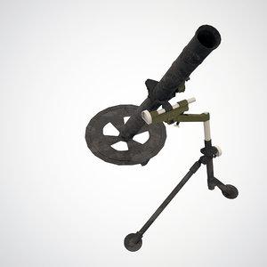 l 16 mortar 3D