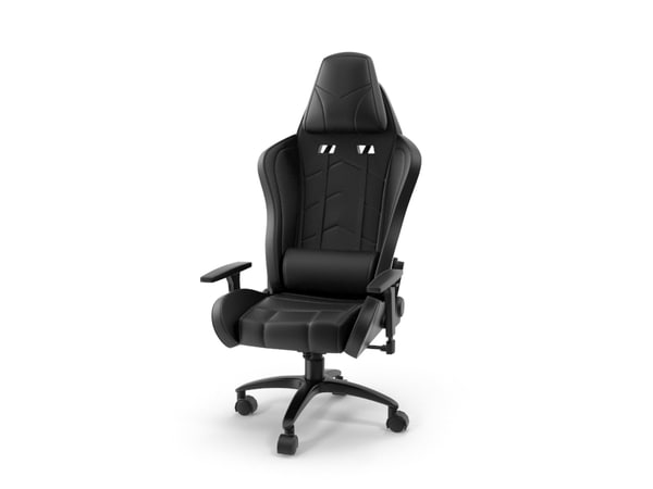 ikayaa computer gaming chair design 3D model