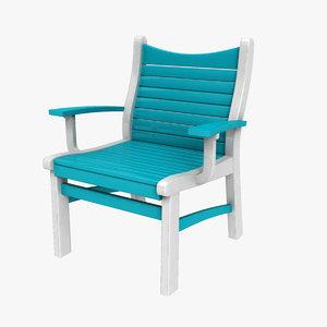 3D patio chair