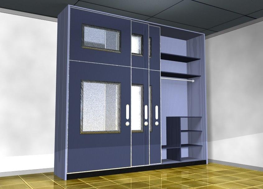 furniture minimalist interior 3D model