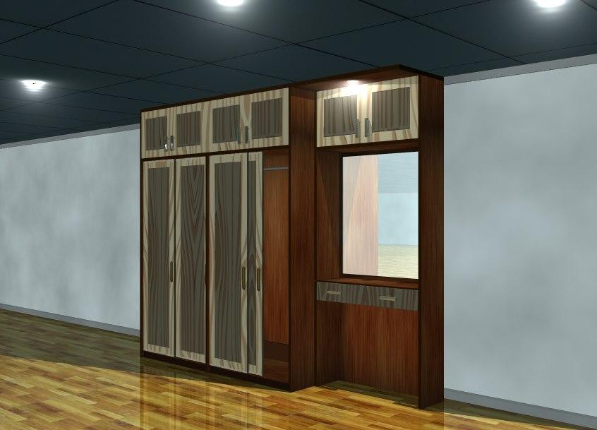 3D furniture minimalist interior