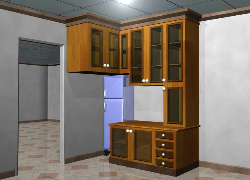 3D furniture minimalist interior model