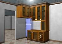 3D furniture minimalist interior model