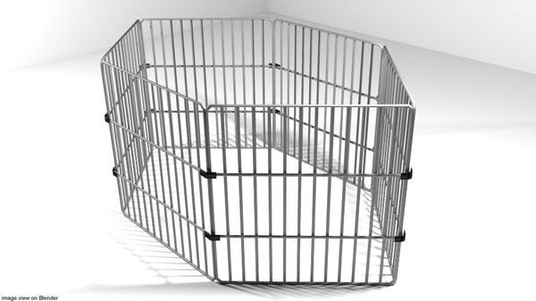 3D cage pet