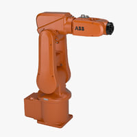 industrial robot abb irb 3D model
