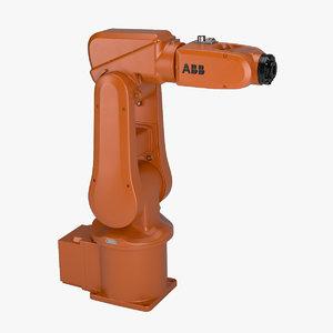 industrial robot abb irb 3D model
