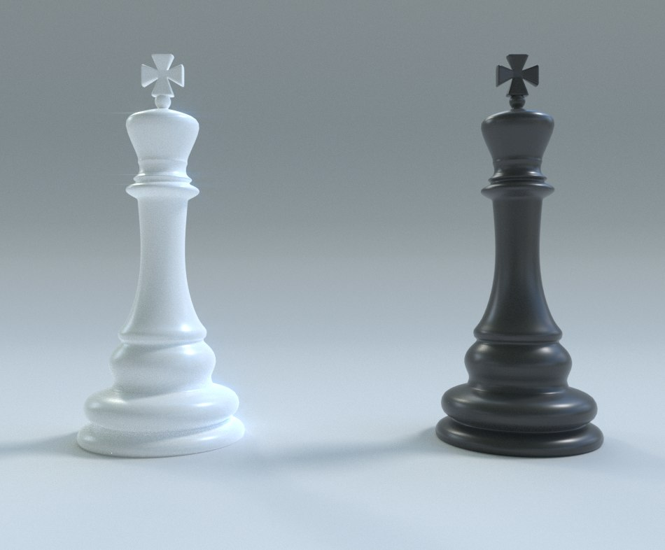 chess king 3D