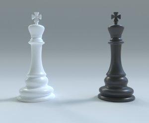 chess king 3D