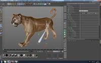 puma rig 3D model