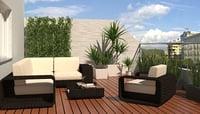 terrace 3D model