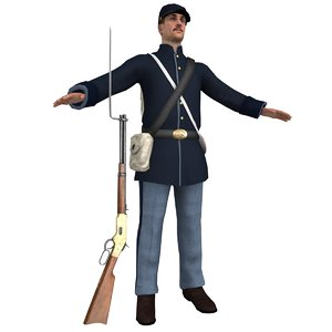 union soldier model