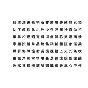 chinese ms pgothic font 3D