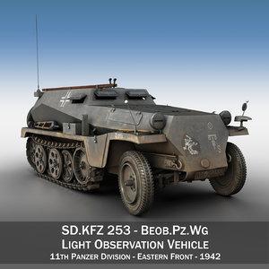 3D sd kfz 253 - model