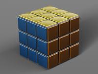 rubik s cube 3D model
