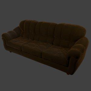 sculpt sofa - 3D model