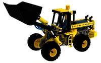 lego engine 3D model