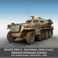 sd kfz 250 1 model