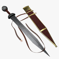 Gladius - Mainz (Roman Sword) and Sheath
