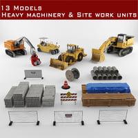 construction unites 3D model