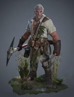 Medieval Warrior Soldier