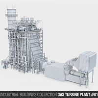 Gas Turbine Plant - Volume 01