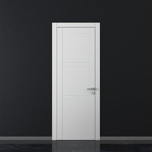 3D model union doors trend tr04