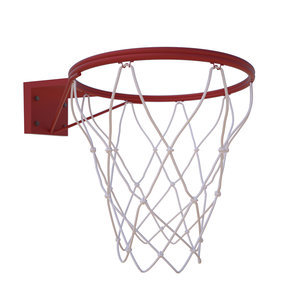basketball hoop ball 3D model