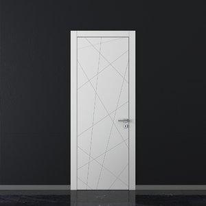 3D union doors trend tr06 model