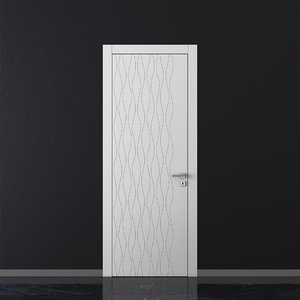 union doors trend tr09 3D model