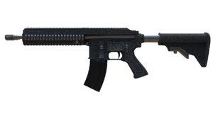 3D model automatic rifle m416