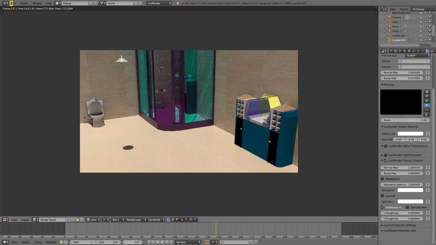 bathroom pack 3D model