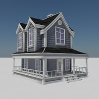 - residential farm house 3D
