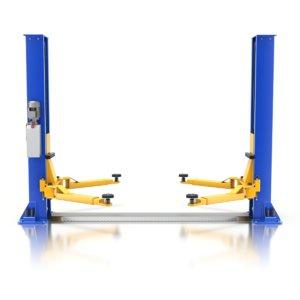 3D car lift model