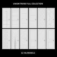union doors trend 3D model