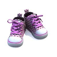 3D baby shoe model