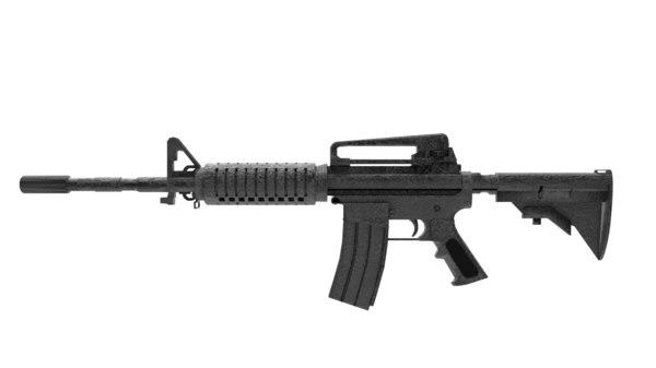 automatic rifle m4a1 3D model
