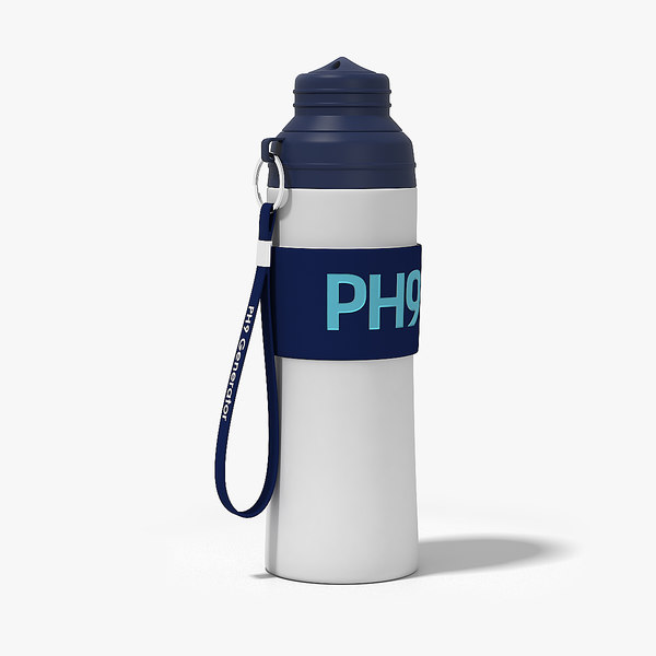 3D ph9 water bottle
