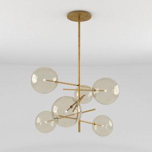 lamp light bolle 3D