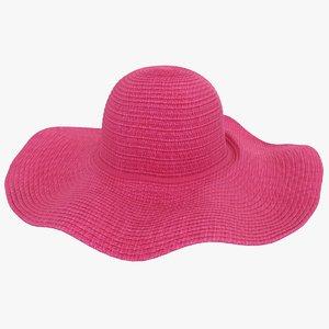 3D floppy hat