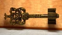 key metal vintage 3D model