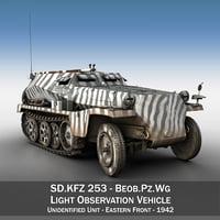 sd kfz 253 - 3D model