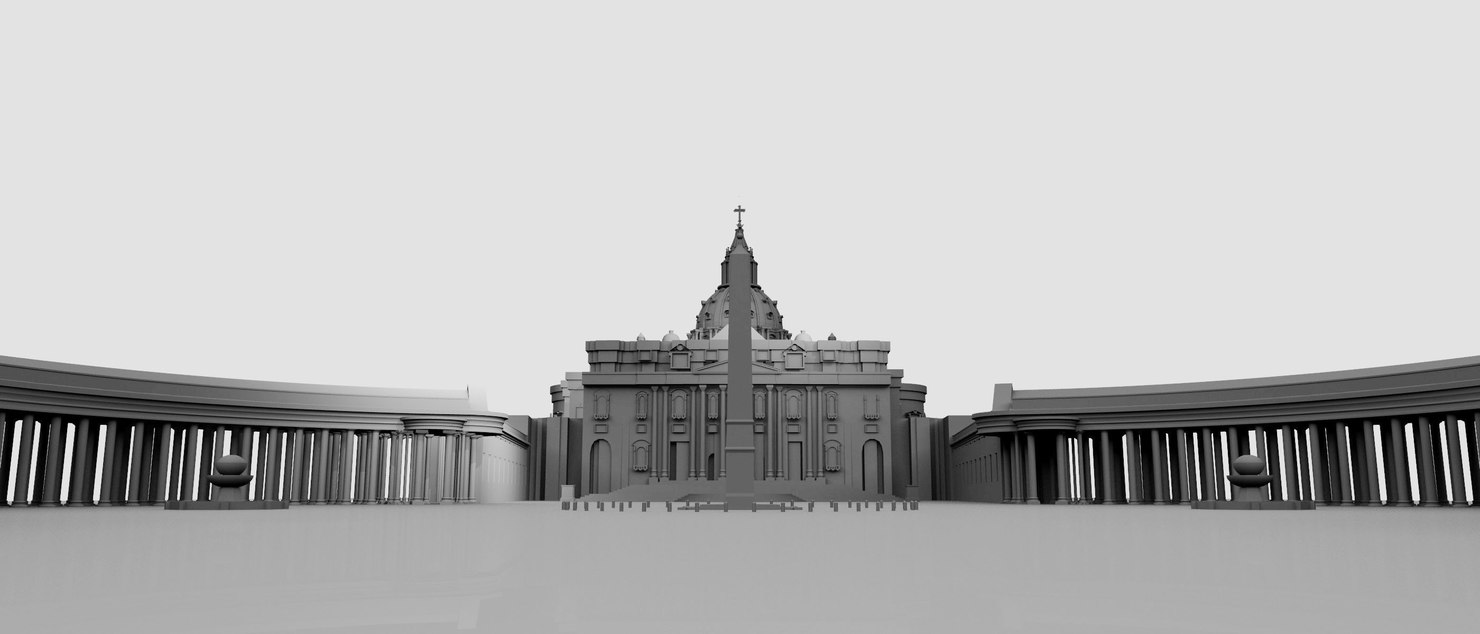 st peters square 3D model